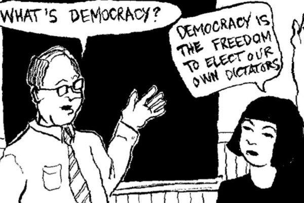 A demokrácia válságának megoldása, hogy az embereknek Cél kell